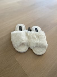 Slippers Camille wit