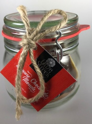 Snoeppot Onze Streek chocolade mossels