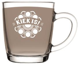 Theeglas Kiek is! (laag)