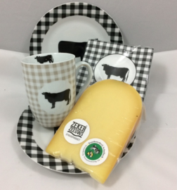 Eten tussen de koeien