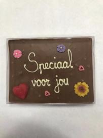 Chocoladetegel Speciaal voor jou