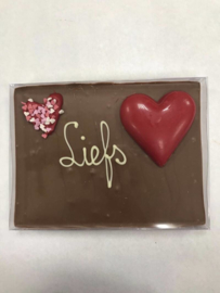 Chocoladetegel Liefs