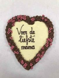 MEGA Chocoladehart Voor de Liefste Mama