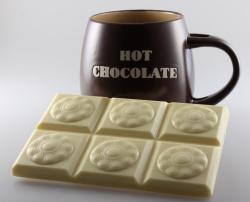 Chocoladereep Zeeuwse Knoop wit