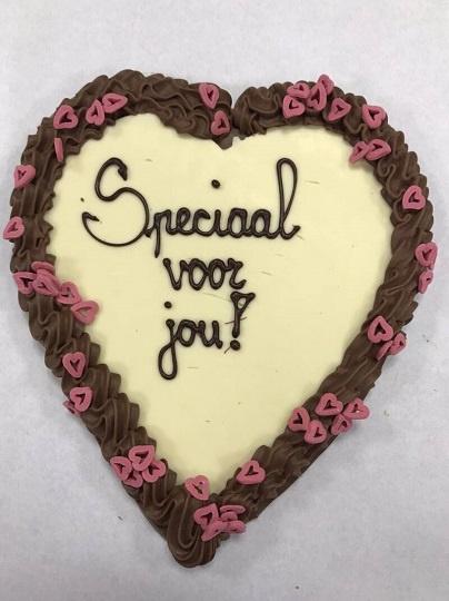 MEGA Chocoladehart Speciaal voor Jou