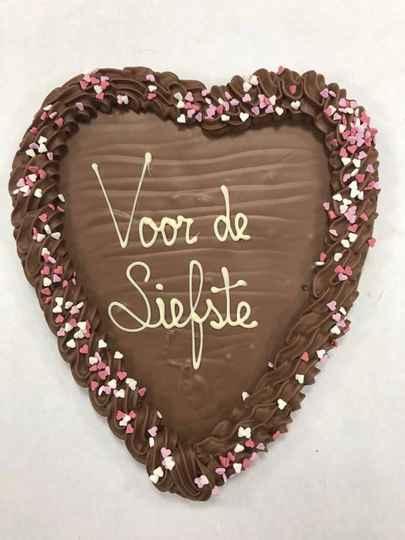 Chocoladehart Voor de Liefste