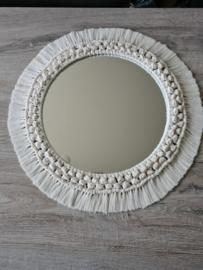 Macramé spiegel Boho Knots