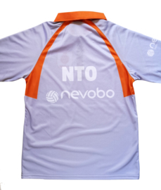 Officiële Nevobo NTO /  lijnrechters polo (lange mouw)