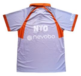 Officiële Nevobo NTO /  lijnrechters polo (korte mouw)