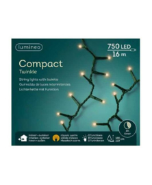 Lumineo Compact Strengverlichting Klassiek warm