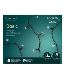 Lumineo Basic Strengverlichting Koel wit