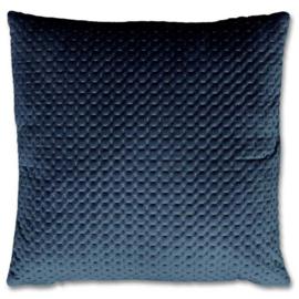 Kussen Nora 45x45cm donker blauw