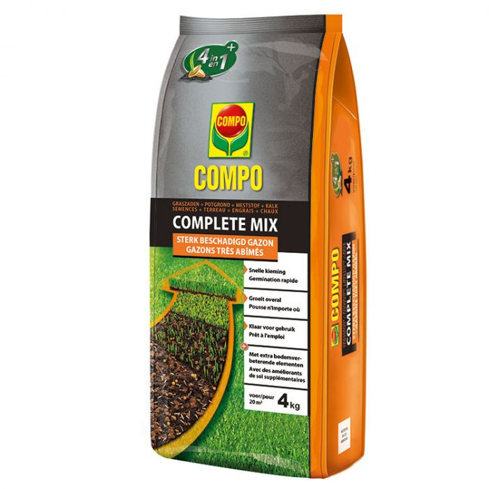 Compo complete mix 4 in 1 - 20 m²