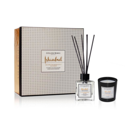 Istanbul Fragrance Sticks and Scented Candle Giftset | Atelier Rebul