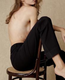 Silvia Suple Roble Wool Pants   Lois