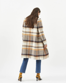 Minoa Checked Coat | Minimum