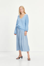 Uma Skirt Dusty Blue | Samsøe Samsøe