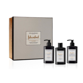 Istanbul Liquid Soap, Shower Gel and Hand & Body Lotion Giftset | Atelier Rebul