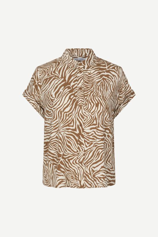 Majan Shirt Mountain Zebra | Samsøe Samsøe