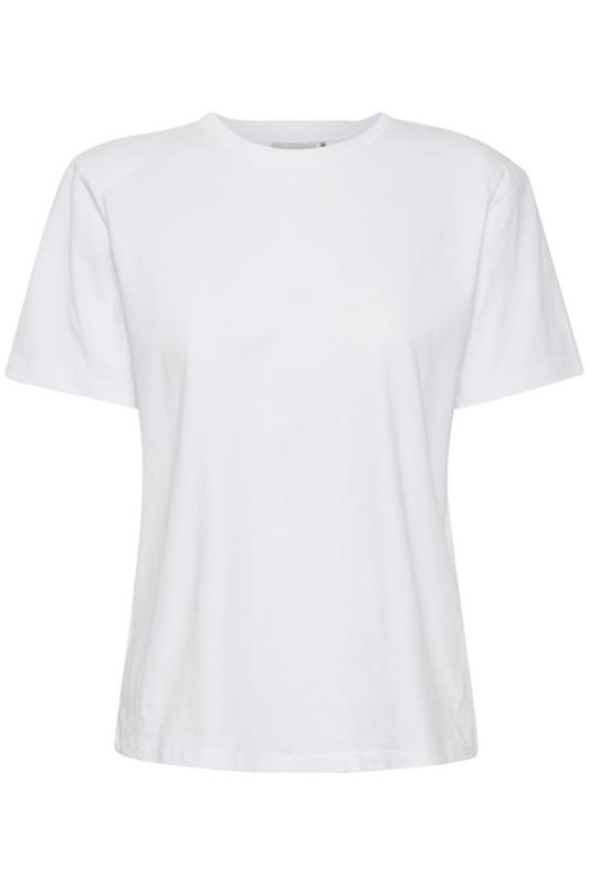 White JoryGZ T-Shirt | Gestuz