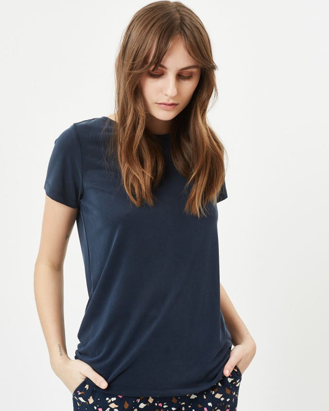 Rynah T-Shirt Navy Blazer | Minimum