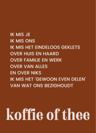 koffie of thee