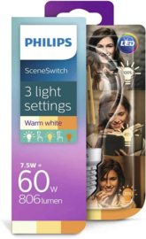 Philips Sceneswitch Led E27 helder