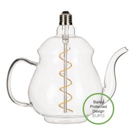 Led Teapot Earl Clear E27 4W, 240 lm, 2200k dimbaar
