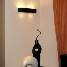 Bloqq / Cleoni Caspe breed wandlamp