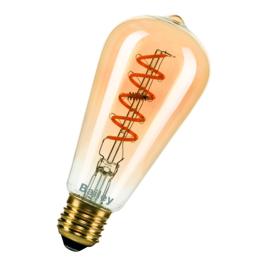 Spiraled led lamp edison model