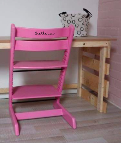 Kinderstoel naamsticker Tripp Trapp / Ikea