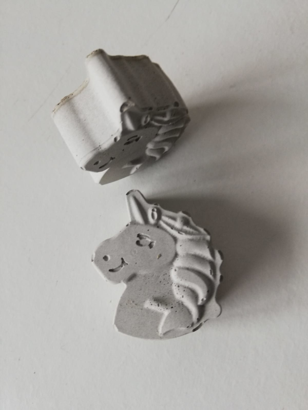 Unicorn van beton