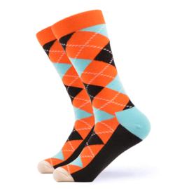 Vrolijke Sokken Ruit Maat 41-46