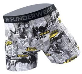 2-Pack Funderwear Boxershorts Big City (alleen nog in maat S en L)