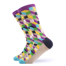 Vrolijke Sokken Blokken Maat 36-40