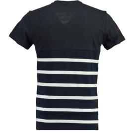 T-shirt Canadian Peak Jaybay Heren Navy- White