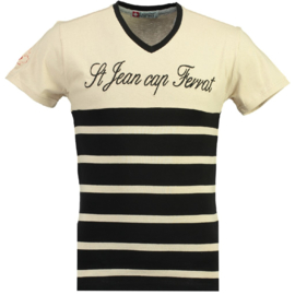 T-shirt Canadian Peak Jaybay Heren Black-Off White