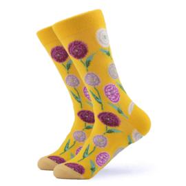 Vrolijke Sokken Flower Maat 36-40