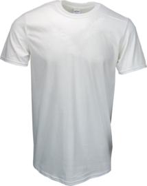 T-shirt Gildan Ronde Hals Wit