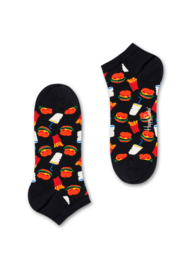 Happy Socks Hamburger Low Socks