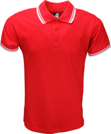 Sol's Polo Pasadena Heren Rood-Wit