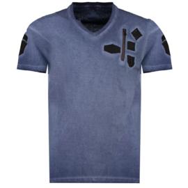 T-shirt Canadian Peak Jagger Heren Marine
