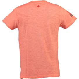 T-shirt Canadian Peak Isla Heren Corail (alleen nog maat M en XL)