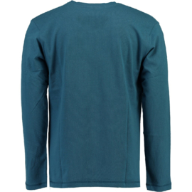 Longsleeve Shirt Canadian Peak Jamilton Heren Blue