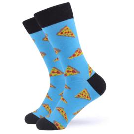 Vrolijke Sokken Pizza Maat 36-40