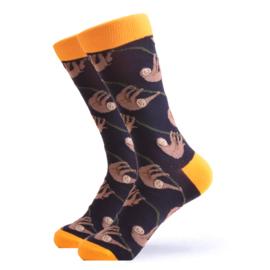 Vrolijke Sokken Luiaard Maat 36-40