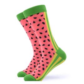 Vrolijke Sokken Watermeloen Maat 41-46