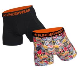 2-Pack Funderwear Boxershorts Good Trip (alleen nog in de maat M en XXL)