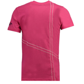 T-shirt Geographical Norway Jilly Heren Flashy Pink