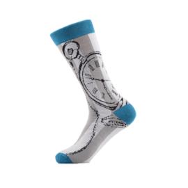 Vrolijke Sokken Zakhorloge Maat 41-46